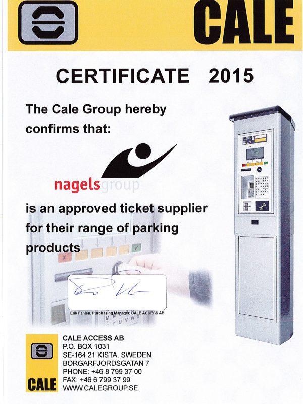 Certificate Cale