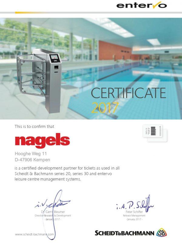 Certificate_nagels_ScheidtBachmann_2017a_Leisure
