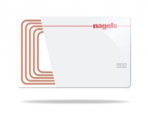 RFID Plastikkarten von nagels