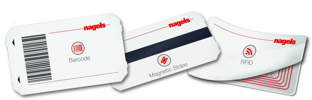 Barcode Magnetstreifen RFID Ticket