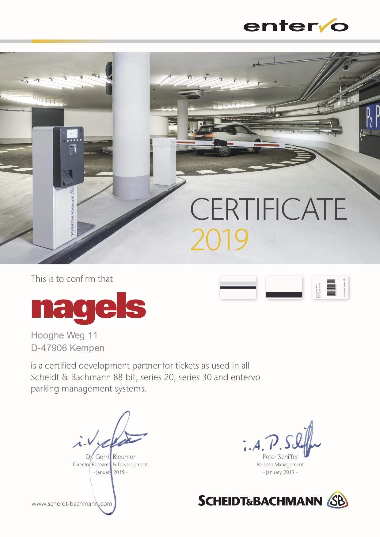 Zertifikate von Systemherstellern, ISO und FSC