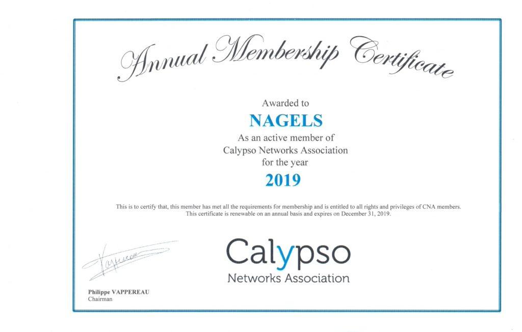 Calypso Networks Association 2019